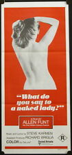 What Do You Say to a Naked Lady? (1970) Aust Daybill Candid Camera ALAN FUNT