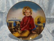 """J - 00006000  Shirley Temple """"Stowaway"""" Collectors Plate"""