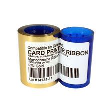 New Ribbin for Datacard PN DC285GL SP25/SP30/SP35 Printer Gold 1000 Prints