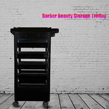 Strong Rolling Hairdressing Trolley Salon Hair Rolling Cart Storage Station C5K7