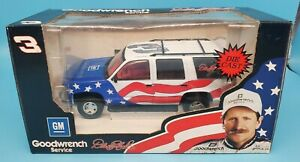 BROOKFIELD DALE EARNHARDT #3 OLYMPIC TRIBUTE CHEVROLET TAHOE 1/25TH SCALE