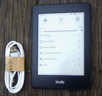 Kindle Paperwhite 2nd/6th Generation, (Can't Register), Black, SCRATCH & DENT.