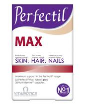 Vitabiotics Perfectil Max Support Healthy Skin Hair Nails Nutri-Demal (84)