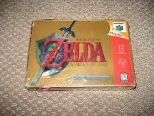 Legend of Zelda Ocarina of Time -- Collector's Edition (Nintendo 64, 1998) New