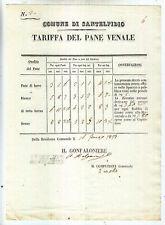 AA139-MARCHE-SANT'ELPIDIO TARIFFA DEL PANE 1853