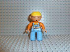 Lego ® duplo Bob el constructor figura 3594 3292 3597 3294 3288 3297 3299 k38