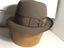 Vintage Stetson Fedora Hat Stetson Royal Deluxe Size 7-1/8 slightly larger