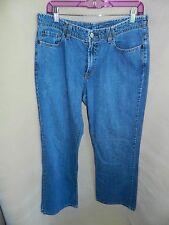 Lucky Brand Dungarees Light Wash Denim Blue Jeans Rancher Flare Women's 12/31