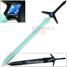 Dark Repulser Kirito Anime Sword Art Online Blue SAO Gem Turquoise Steel Blade