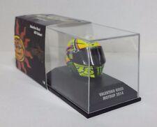 MINICHAMPS VALENTINO ROSSI MODELLINO AGV CASCO HELMET 1/8 MOTOGP 2014  398140046