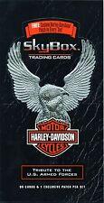 1994 HARLEY DAVIDSON TRADING CARDS-COMPLETE BOX-6 COMPLETE SETS