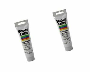 Super Lube 21030 Synthetic Grease (NLGI 2), 3 oz Tube (2 Pack)