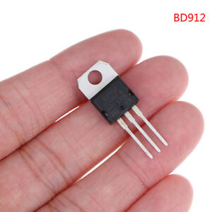 10pcs BD912 100V 15A TO-220 Darlington transistor International standardB`sf