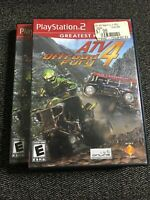 ATV OFFROAD FURY 4 GREATEST HITS - PS2 - WITH MANUAL - FREE S/H - (T)