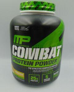 Protein Powder Combat Performance Strength Banana Cream 4lbs MusclePharm