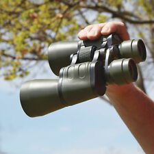 10x50mm Wide-Angle Binoculars with Nylon Carrying Case