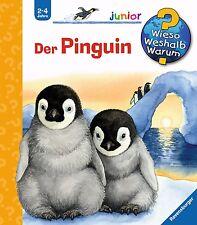 Wieso Weshalb Warum Junior Der Pinguin 2-4 Jahre Ravensburger +BONUS