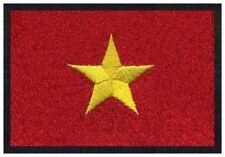 2 pcs VIETNAMESE Flag Embroidered Iron on Patches - VIETNAM