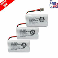Replacement Battery For Uniden DECT 6.0 BT1007 BT-1007 Cordless Phone 3-PACK USA