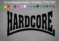Hardcore Aufkleber Lonsdale London Punk Bumper Sticker VW GTI 18 Farben 5 Größen