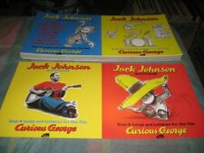 JACK JOHNSON-(curious george)-1 POSTER-2 SIDED-12X24-NMINT-RARE