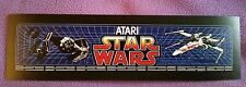 Star Wars arcade marquee sticker. 3 x 10. Buy any 3 of stickers, GET ONE FREE!)