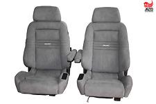 2 Recaro ergomed DS Alcantara schwarz Wohnmobil Sprinter Vito T5 Westfalia Sitze
