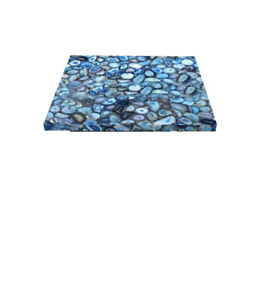 Blue Agate Table Top, Dinning Table, Coffee Top, Side Table, Console Table Arts