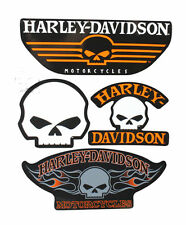 HARLEY DAVIDSON Willie G Skull Collection Double Sided Window Cling
