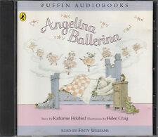 Angelina Ballerina Katharine Holabird CD Audio Book Unabridged FASTPOST