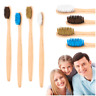 Handmade Bamboo Wooden Toothbrush Eco-Friendly Toothbrush Toothcare Product