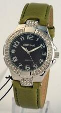 Silberne Excellanc Armbanduhren aus Kunstleder