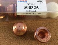 Nozzle 50A Plasma Cutting American Torch 500325 Kaliburn(R) FL-100 PC Multi Qty