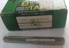5/16 24 NF BTI Robinet Filetage Conique 4Fl GH-3