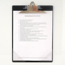 Magnetic-Back Clipboard with Corner Pockets - CLIPMC-1