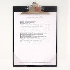 StoreSMART Magnetic-Back Clipboard with Corner Pockets - CLIPMC-1