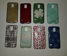 Galaxy s5 cell phone covers. elephant floral red gold blue irish