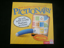 PICTIONARY BOARD GAME - FAMILY EDITION - EXCELLENT CONDITION - FREE POST