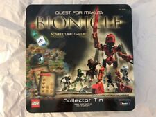 BIONICLE Quest For Makuta ADVENTURE BOARD GAME Lego Bionicles Collectors Tin