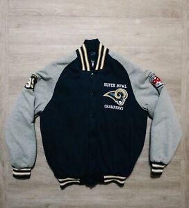 St Louis Rams Super Bowl Champions Letterman Jacket