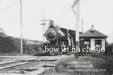 Boston & Maine RR Covered bridge Bow Junction NH c.1900 view a