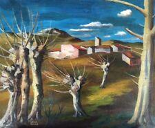 "Gabriel Zendel."" Paysage provencal"" Huile sur toile "" ; v 530"