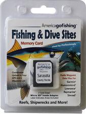 Sarasota County Fishing & Dive Sites Memory Card
