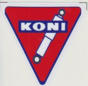 Autocollants Stickers -   AMORTISSEURS KONI