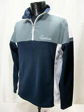 Hudson Bay Co. HBC 2010 Canada Olympic 1/4 Zip Pullover Men's S Blue/ Gray/White