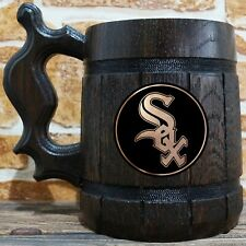 Chicago White Sox Beer Mug, Baseball Fan Beer Stein, Personalized Gift for Him