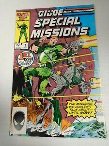 Marvel Comics G.I. JOE SPECIAL MISSIONS #1 (1986) Mike Zeck Cover