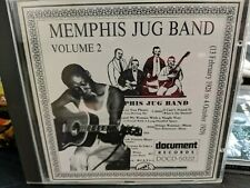 Memphis Jug Band Volume 2 CD Document
