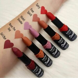 NYX Suede Matte Lipstick (Choose Shade) - NEW SEALED