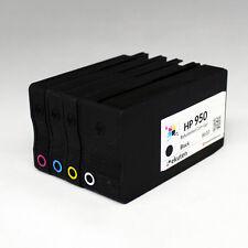 4 Pack Refurbished for HP 8610 8620 8630 OEM Refill Ink Cartridge - HP 950 951